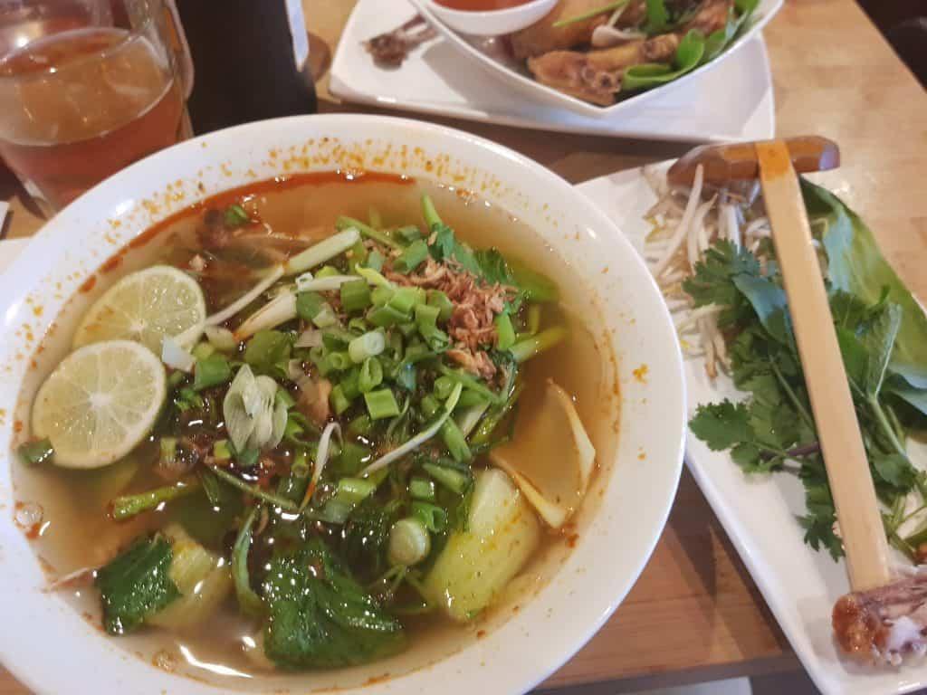 Pho Cafe, Vietnamese Street Food Restaurant, Fitzrovia