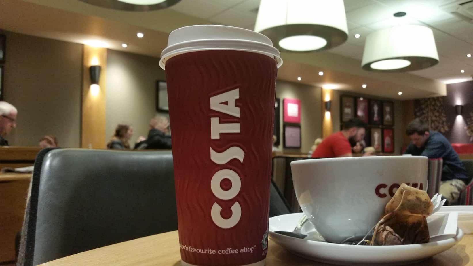 Costa Coffee Christmas Menu The Food And Drink